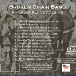 Broken Chair Band CD back