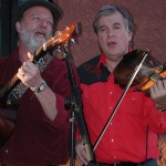 Playing with Lane Johnson and the Tortolita Gutpluckers at Bianci's Pizza in Tucson