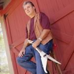 Jim and Mark Wood Viper electric violin at Triangle L Ranch