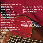 Nick Busch CD Back Cover