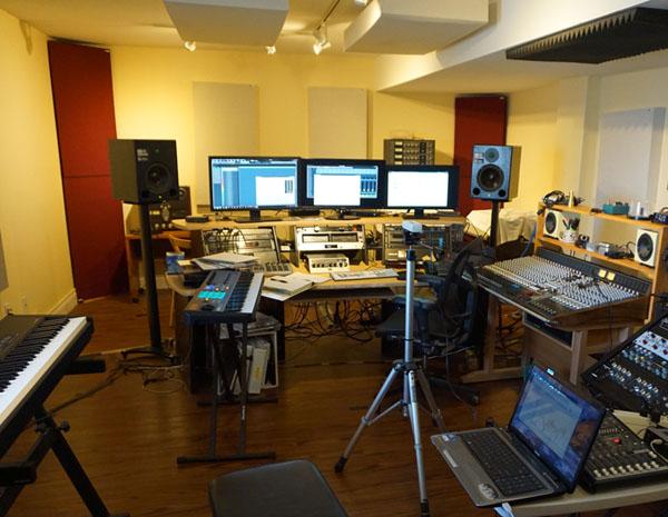 Studio with Meyers and REW setup3